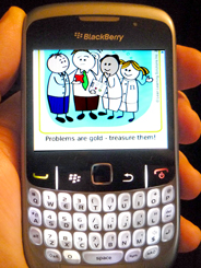 Blackberry Mobile app