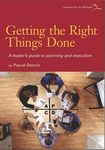 Getting the Right Things Done